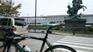 ロードバイクで小田原まで来ました。実は、この先が大変です。