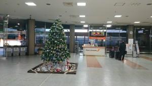 TCAT 3階の成田空港行きバス乗り場。旅立ちへ向けてだんだんテンションが上がっていきます。