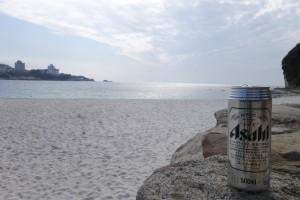 白浜に乾杯w