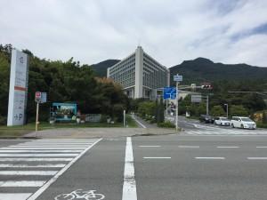 淡路島にあるウェスティン ホテル 淡路へのアプローチ。