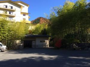 今回の温泉宿「別邸笹音」