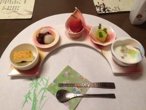 お料理その⑥ デザートがまた豪華!