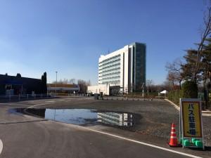 JAXAの筑波宇宙センター。広い!