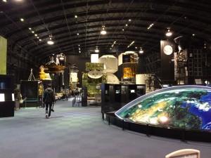こちらは展示室を入口方面から撮った写真。左に映っているのがみちみちですw