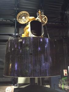 静止気象衛星「ひまわり1号」