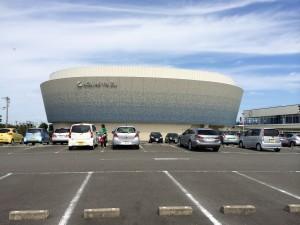 アクアス焼津、というフィットネスクラブ。プールの水やジェットバスは海洋深層水を使っているらしい。