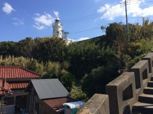 翌日は洲崎灯台まで行きました。