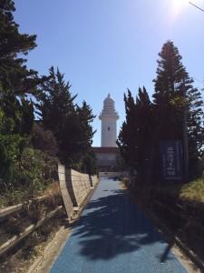 せっかく千葉まで来た事だし、少し足を伸ばして野島崎灯台にも行ってきた。