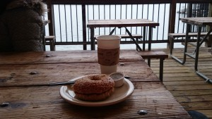 Mozart's Coffee Roastersの塩ベーグル。激ウマ!数量限定とのことです。