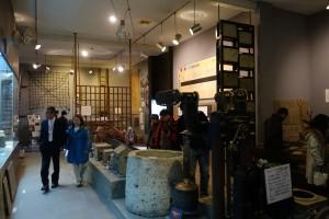 大谷資料館の展示エリア。大谷採掘場の歴史などが学べます。