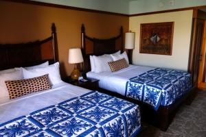 アウラニの2ベッドルーム・ヴィラのセカンドベッドルームを逆サイドから。