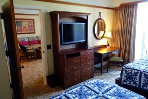 アウラニの2ベッドルーム・ヴィラのセカンドベッドルーム。
