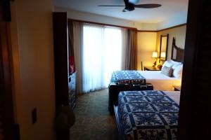アウラニの2ベッドルーム ヴィラ オーシャン・ビューのセカンドベッドルーム。