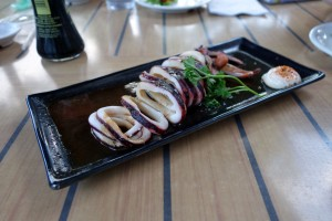 コオリナ ステーション&センターのSushi Yuzu(寿司 ゆず)のいか焼き。こちらも十分おいしいです。