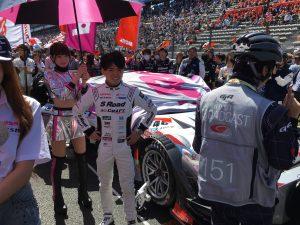 S Road GT-Rの千代選手。ドライバーにも会えますw
