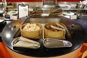 シェラトン・グランデ・トーキョーベイ・ホテルのYA-SHOKU(夜食)には点心もあります。