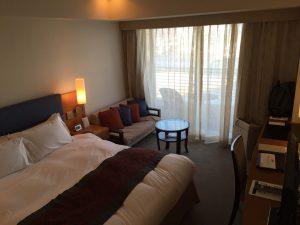 神戸メリケンパークオリエンタルホテル みなとまちViewシーフィルダブルのお部屋。