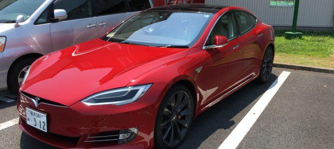 試乗記:Tesla Model S (P90D)