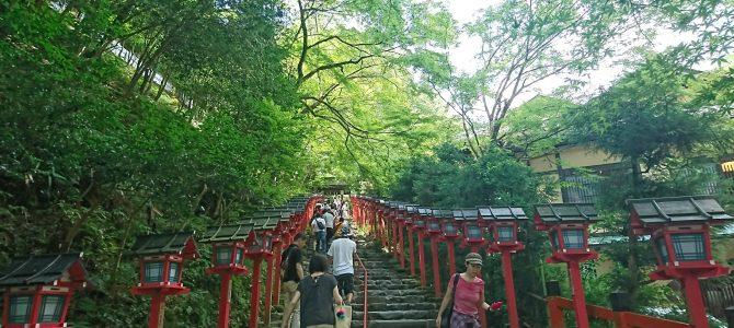 神社仏閣とお線香:貴船神社・鞍馬寺