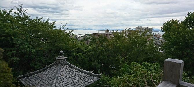 神社仏閣とお線香:石山寺・三井寺(園城寺)